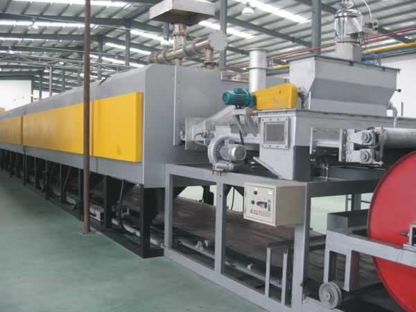 Конвейерные печи восстановления металлических порошков