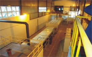 Печи восстановления металлических порошков серии SBF