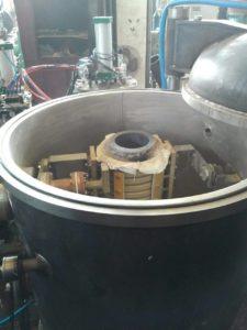 Плавка индукционной печью